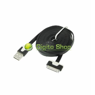 CABLE USB IPHONE 2/3/4 PLANO