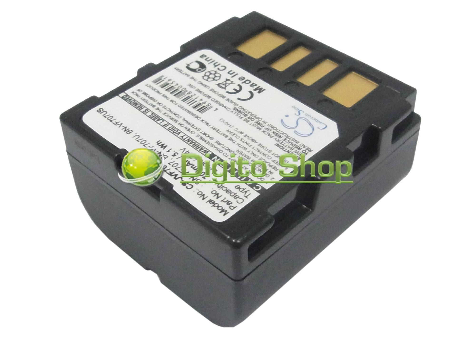 CARGADOR JVC gz-mg77e gz-mg505 gz-mg505e Batería